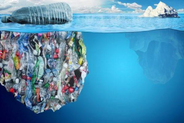 iceberg plastico